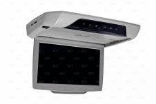 Автомобильный потолочный монитор серого цвета
