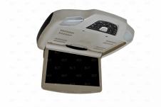 """Автомобильный моторизованный потолочный монитор 12"""" (30,5 см) серого цвета"""