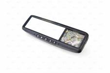 Автомобильное зеркало со встроенной навигацией и штатным креплением