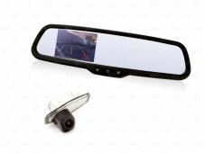 Парковочный комплект для Honda CIVIC 4D 2012+ с автомобильным зеркалом заднего в