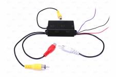 Автомобильный 3-х канальный активный блок выбора камер