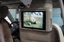 """Комплект мониторов 10"""" на подголовники с мультимедийной системой RHM"""